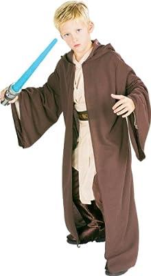 Jedi Robe - Deluxe - Star Wars - Niños Disfraz