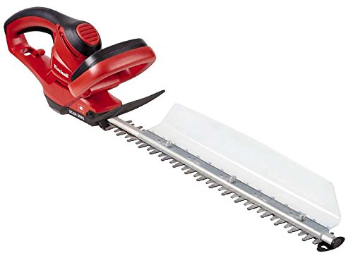 Einhell 3403360 Motosega per Siepi GC-Eh 5550 (Lunghezza Taglio: 500 mm, Distanza Denti: 26 mm, Sistema di Raccolta), 500 W, 230 V, Red