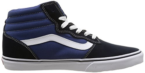 Vans Hightop Sneaker Blau (suede Canvas/navy/stv Navy)