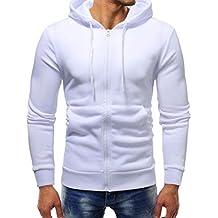 zarupeng Sudaderas Hombre Baratas Hombre retro manga larga sudadera con capucha Tops chaqueta abrigo ropa