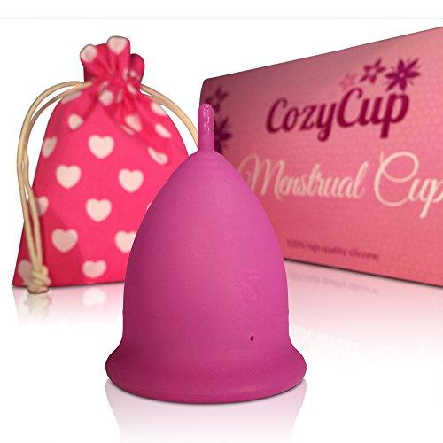 Coppetta mestruale CozyCup CLASSIC: Coppetta mestruazioni (grande, viola)