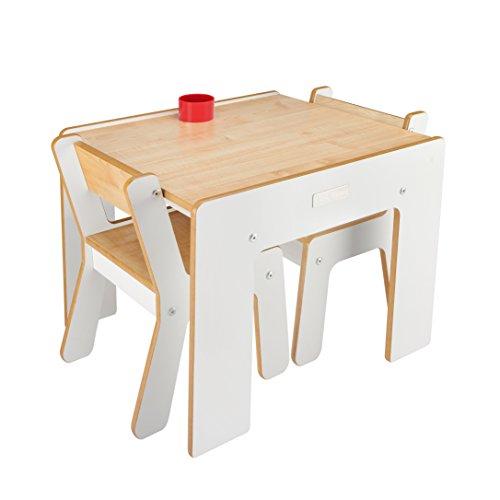 little-helper-fsd02-3-tavolino-con-portamatite-e-2-sedie-per-bambini-bianco