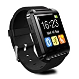 LATEC Bluetooth Smartwatch Sports Smart Fitness Watch Wristband Phone Watches with Multi-Language Pedometer Touch Screen for Samsung Note 8 HTC Sony LG Huawei P9 and Other Android Devices