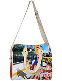 Kuber Industries™ Exclusive Casual Elegant Digital Printed Exclusive Formal Duffle Handheld Spacious Travel Hobo...