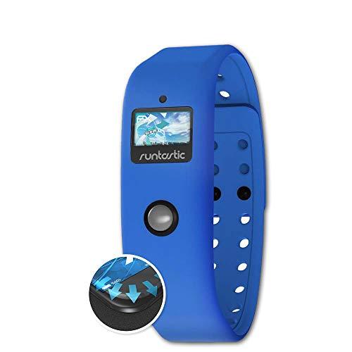 atFoliX Schutzfolie passend für Runtastic Orbit Folie, ultraklare & Flexible FX Bildschirmschutzfolie (3X)