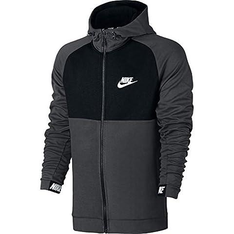 NIKE Advance de veste à capuche M gris