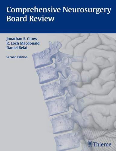 Comprehensive Neurosurgery Board Review -