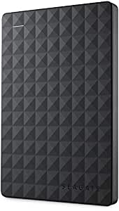 Seagate 2 TB Expansion USB 3.0 Portable 2.5 Inch External Hard Drive for PC, Xbox One and PlayStation 4 (STEA2000400)