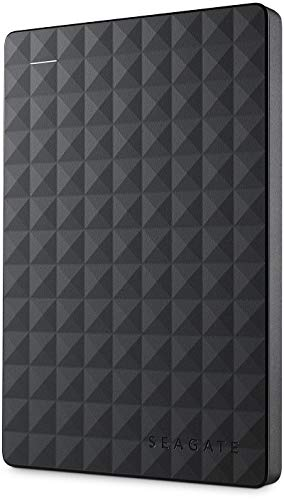 Seagate STEA2000400 - Disco duro de 2 TB, color negro