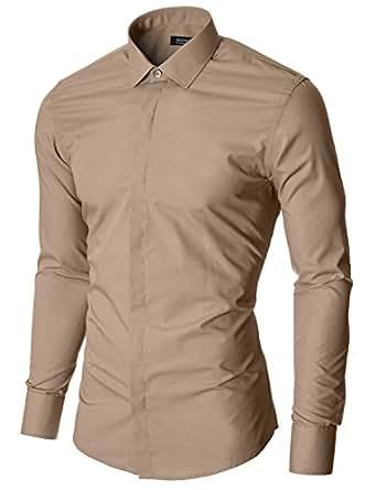 Moderno camicia classico uomo mod1447ls for Amazon uomo
