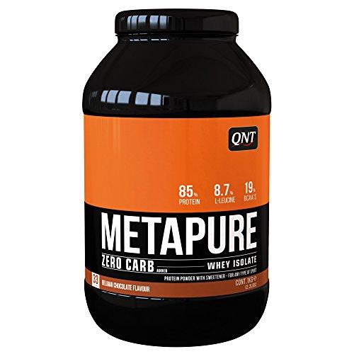 QNT Zero Carb Metapure 1kg; Schokolade - Zero Carb Whey Protein