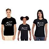 Best Mom Shirt - YaYa cafe King Queen Matching Family T-Shirts Review