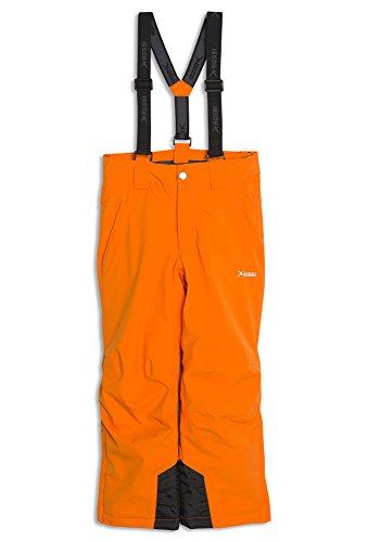 Rossi Jungen Skihose - 10.000er Wassersäule Orange,146/52