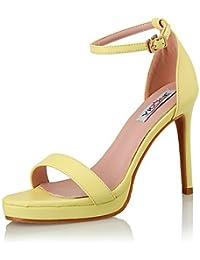 GGX/ Mujer-Tacón Stiletto-Tacones / Estilos / Sandalias-Sandalias-Boda / Vestido / Fiesta y Noche-Cuero-Negro…