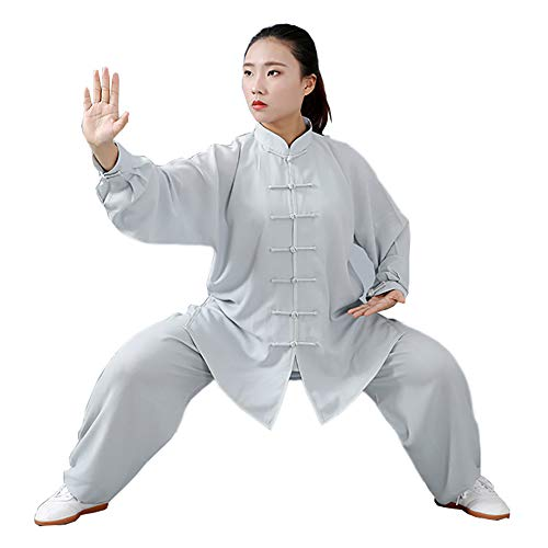 Daoba Unisex Kung Fu Uniform Tai Chi Baumwolle Und Leinen Kampfkunst Kleidung Wushu Anzug Trainingsanzug Tops Und Hose - Kung Fu Uniform