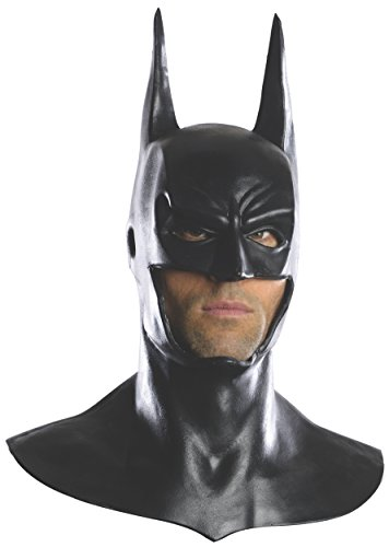 Batman Deluxe Latex Maske Vollmaske Gotham Superheld Arkham City The Dark (Knight Dark Kostüme Arkham City)