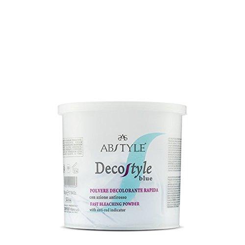 Ab style   decostyle blue - polvere decolorante rapida con azione antirosso adatta a schiariture intense e progressive(500g)