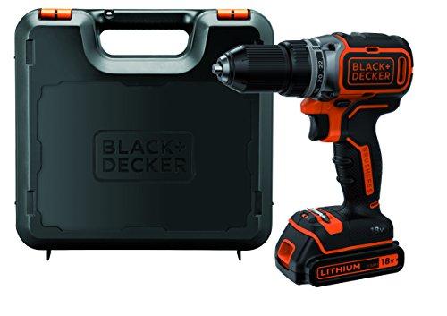 BLACK+DECKER BL186K-QW - Taladro Atornillador 18V