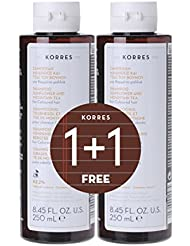 Korres Sunflower-Mountain Tea Shampoo & 1FREE