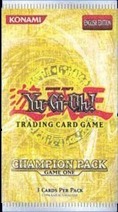 Upper Deck 26368 - Yu-Gi-Oh! Booster Champions Pack 1