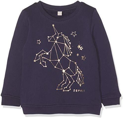 ESPRIT KIDS Mädchen Sweatshirt, Violett (Plum 871), (Herstellergröße: 104+) -