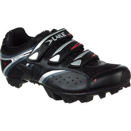 LAKE MX 160 070053, Chaussures de cyclisme mixte adulte Noir-TR-C3-31
