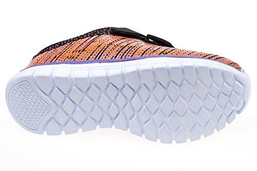 gibra, Sneaker bambini Arancione (Arancio/nero)