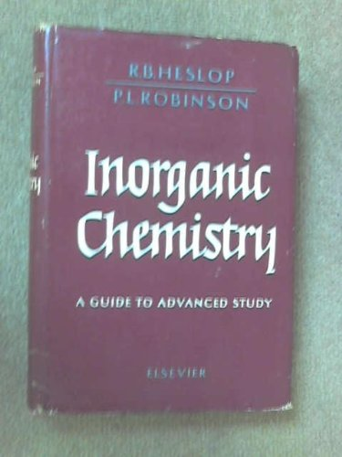 Inorganic Chemistry, a Guide to Advanced Study