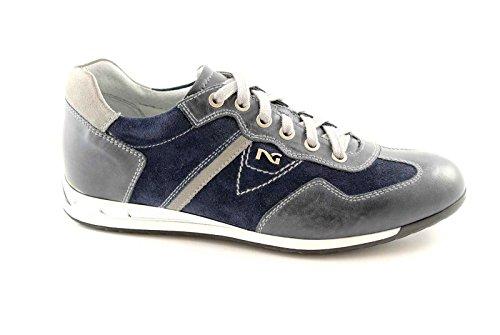 BLACK JARDINS 3280 bleus Les chaussures de sport homme élégant Blu
