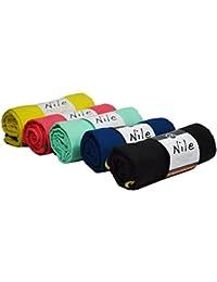 Sternitz Toalla de Microfibra Compacta - Absorbente - Secado Rápido - Perfecta para Natación, Gym, Running, Ciclismo, Senderismo, Yoga, Pilates, etc. - Microfiber Towel (Amarillo, 60cm x 120cm)