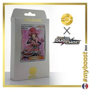 Méridia (Meridia) 173/181 Entrenadore Full Art - #myboost X Soleil & Lune 9 Duo de Choc - Box de 10 Cartas Pokémon Francés