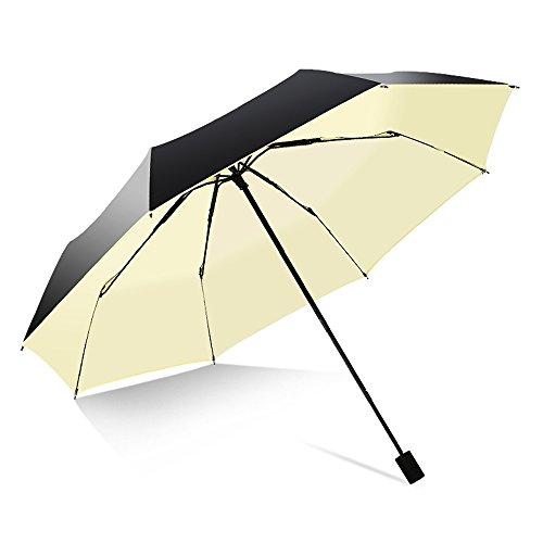Jpp ombrelli, ombrelli di protezione uv, ombrelli di protezione solare, ombrelli pieghevoli a doppio uso,, leggeri (colore : c)