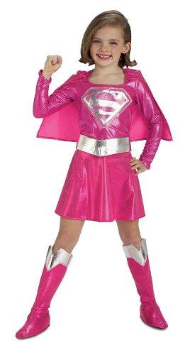 Supergirl-Kostüm für Kleinkinder–Pink (Superman Kostüm Für Kleinkinder)