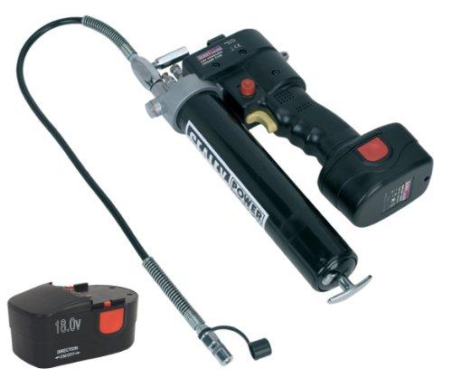 Cordless - Pistola per grasso, 18 V, con 2 batterie