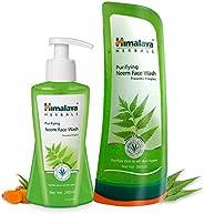 Himalaya Herbals Purifying Neem Face Wash, 200ml And Himalaya Herbals Purifying Neem Face Wash, 300ml