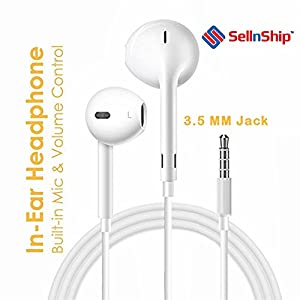 Generic Rbs Earphones W/Remote & Mic For Iphone 5 6 6s 6plus And Above Series With 3.5mm Jack Supported at all android phones