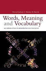 Words, Meaning and Vocabulary (Open Linguistics)