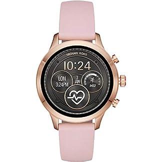 Michael-Kors-Damen-Smartwatch-mit-Silikon-Armband-MKT5048