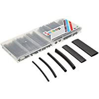SOLOOP 53pcs Dual-Wall 3:1 Guaine termorestringenti per cavi elettrici assortite, 6 (Boxed Tubo)