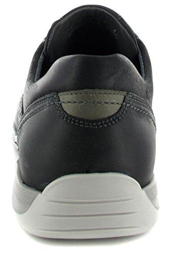 Racer fRETZ-mEN-homme-noir-chaussures en matelas grande taille Noir - Noir