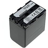 CELLONIC® Batería premium para Sony DSC-F707, -F717, -F828, DSC-R1, DSLR-A100, DSC-S30, -S50, -S70, -S75, MVC-CD250, Cyber-Shot (4200mAh) NP-FM55H,NP-FM50,NP-QM51 bateria de repuesto, pila reemplazo, sustitución