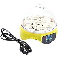 Mini Digital Incubadora de Capacidad de 7 Huevos para Pollo Pato Máquina de Eclosión de Pájaro Incubación de Polluelos
