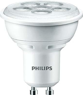 Ampoule LED unicolore Philips GU10 4.5 W = 50 W blanc chaud réflecteur 1 pc(s)