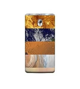 Ebby Premium Designer Back Cover for Lenovo Vibe P1 (Designer Case)