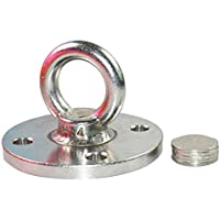 Aoile Stainless Steel Fixed Plate Anti-Gravity Swing Aeriol Yoga Ceiling Buckle Hammock Wall No Screws