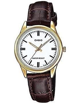 Casio Uhr mit japanischen Quarz Bewegung Woman ltp-v005gl-7a 30.0mm