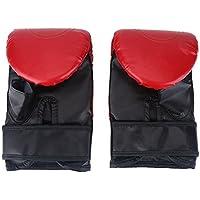 SOONHUA Guantes de Boxeo Guantes de Entrenamiento de Lucha Muay Thai Sparring Punching Kickboxing Grappling Guantes de Saco de Arena para Hombres Mujeres 1 par