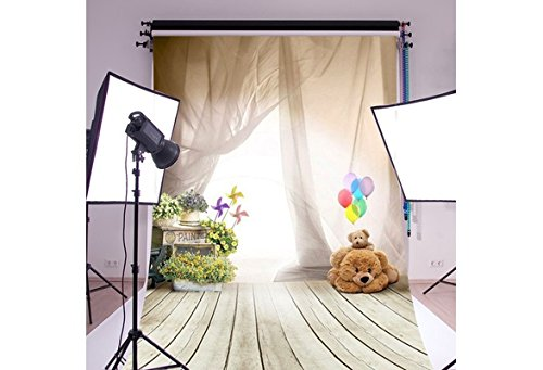 Florata 5 Vinyl 1,5 x 0,9 m individuelle Thema Fotografie Hintergrund City Manor Hintergrund Foto Studio Requisiten (Party Themen Party City)