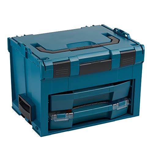 Bosch Sortimo LS BOXX 306 | Professioneller Werkzeugkoffer leer mit i-Boxx 72 H3 und LS-Schublade 72 | Limited Edition | Werkzeugkiste leer Kunststoff