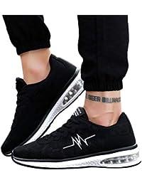 Bestow Zapatillas Deportivas Antideslizantes con Malla Transpirable de Moda para Hombre Informal Zapatillas Ligeras
